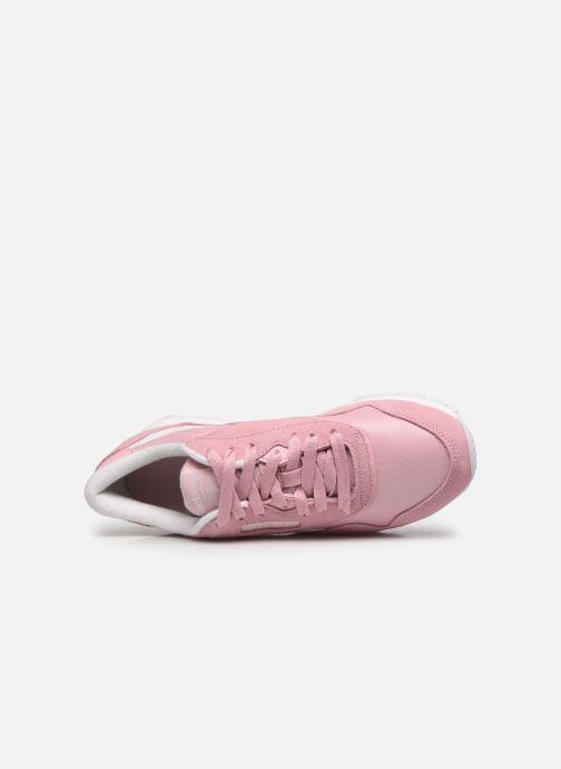 Sneakers Reebok Cl Nylon W Rosa immagine sinistra