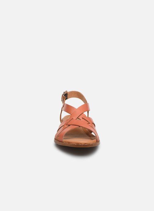 Sandali e scarpe aperte Pikolinos Algar  W0X-0556 Arancione modello indossato