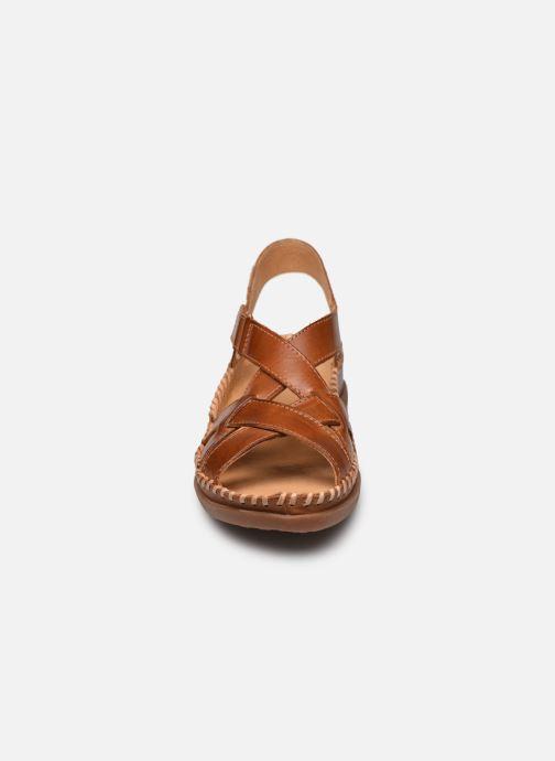 Sandales et nu-pieds Pikolinos Cadaques W8K-0741 Marron vue portées chaussures