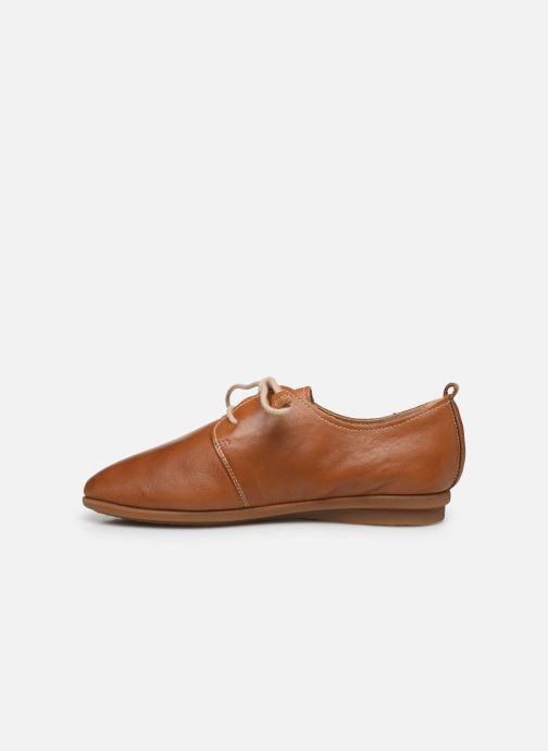Zapatos con cordones Pikolinos Calabria W9K-4985 Marrón vista de frente