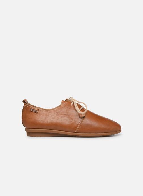 Zapatos con cordones Pikolinos Calabria W9K-4985 Marrón vistra trasera