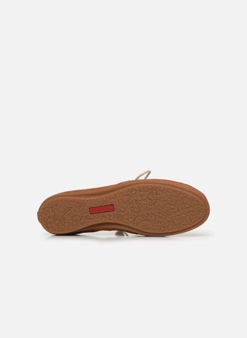 Zapatos con cordones Pikolinos Calabria W9K-4985 Marrón vista de arriba