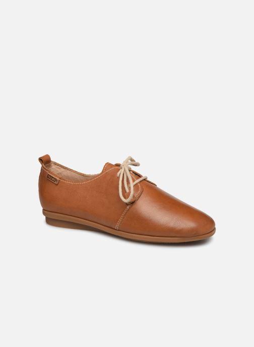 Zapatos con cordones Pikolinos Calabria W9K-4985 Marrón vista de detalle / par