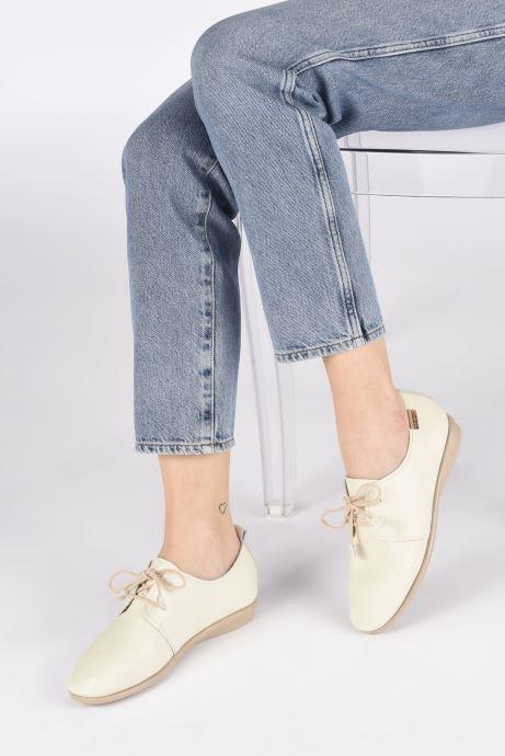 Zapatos con cordones Pikolinos Calabria W9K-4985 Beige vista de abajo