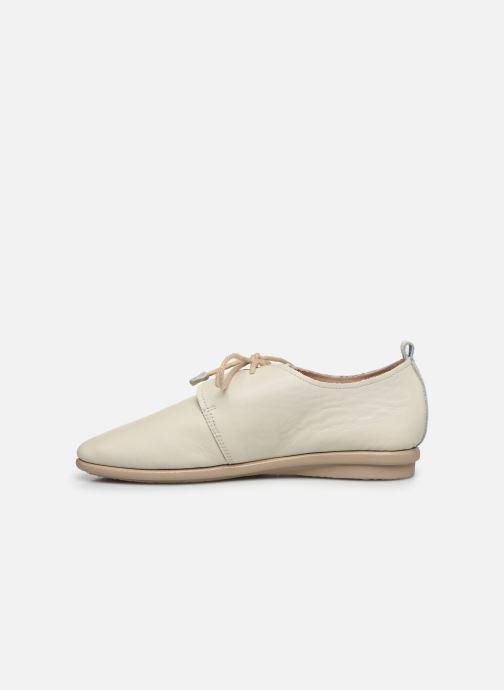 Zapatos con cordones Pikolinos Calabria W9K-4985 Beige vista de frente