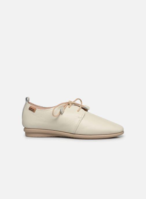 Zapatos con cordones Pikolinos Calabria W9K-4985 Beige vistra trasera
