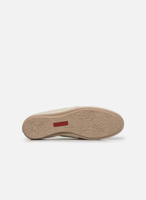 Zapatos con cordones Pikolinos Calabria W9K-4985 Beige vista de arriba