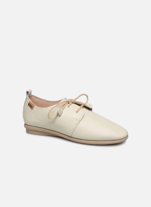 Zapatos con cordones Pikolinos Calabria W9K-4985 Beige vista de detalle / par
