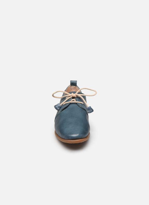Zapatos con cordones Pikolinos Calabria W9K-4985 Azul vista del modelo
