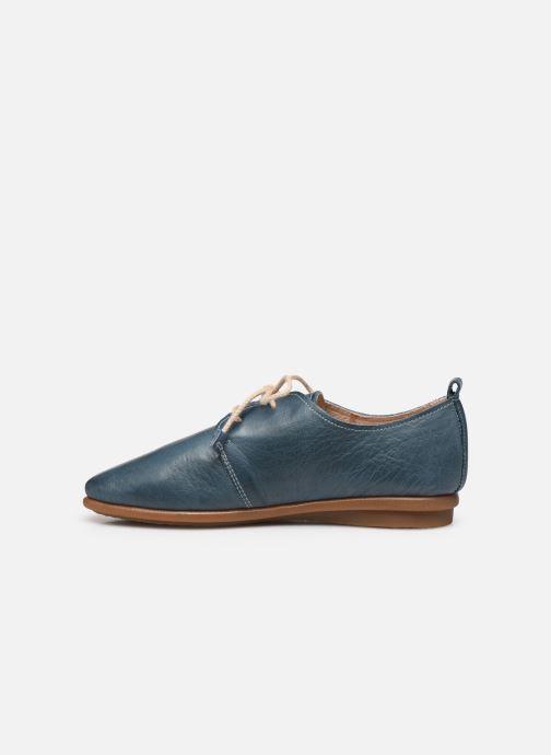 Chaussures à lacets Pikolinos Calabria W9K-4985 Bleu vue face