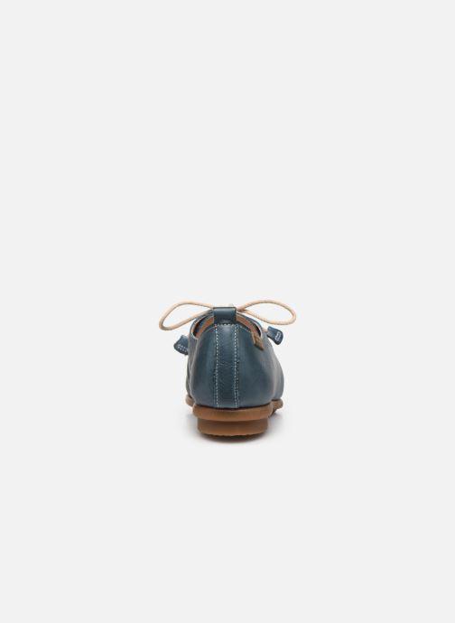Zapatos con cordones Pikolinos Calabria W9K-4985 Azul vista lateral derecha