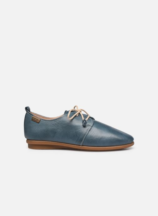 Zapatos con cordones Pikolinos Calabria W9K-4985 Azul vistra trasera