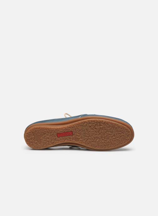 Chaussures à lacets Pikolinos Calabria W9K-4985 Bleu vue haut
