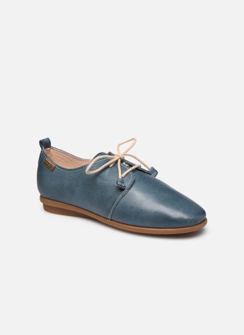 Chaussures à lacets Pikolinos Calabria W9K-4985 Bleu vue détail/paire
