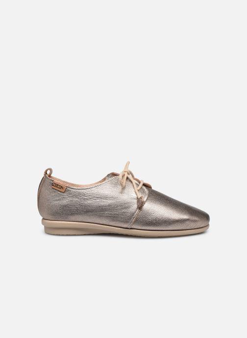 Zapatos con cordones Pikolinos Calabria W9K-4985CL Plateado vistra trasera