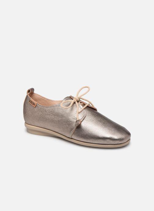 Zapatos con cordones Pikolinos Calabria W9K-4985CL Plateado vista de detalle / par