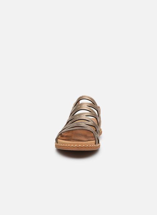Sandali e scarpe aperte Pikolinos Marazul W3F-0879Cl Oro e bronzo modello indossato