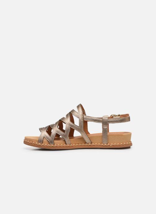 Sandali e scarpe aperte Pikolinos Marazul W3F-0879Cl Oro e bronzo immagine frontale