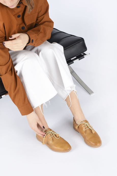 Zapatos con cordones Pikolinos Merida W4F-4994 Marrón vista de abajo