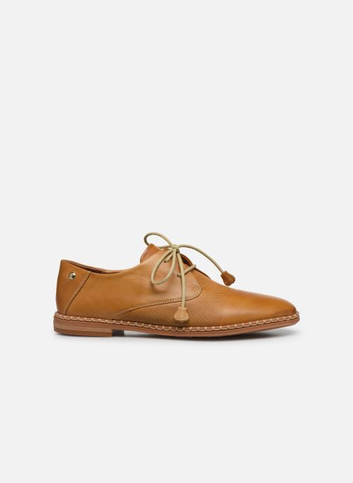 Zapatos con cordones Pikolinos Merida W4F-4994 Marrón vistra trasera