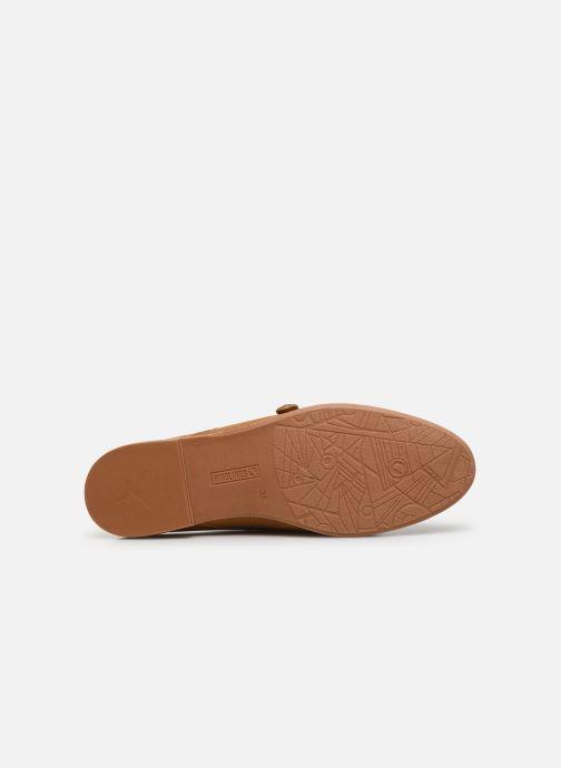 Chaussures à lacets Pikolinos Merida W4F-4994 Marron vue haut