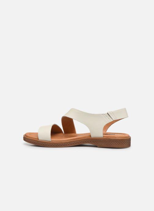 Sandales et nu-pieds Pikolinos Moraira W4E-0834 Blanc vue face
