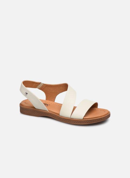 Sandales et nu-pieds Pikolinos Moraira W4E-0834 Blanc vue détail/paire