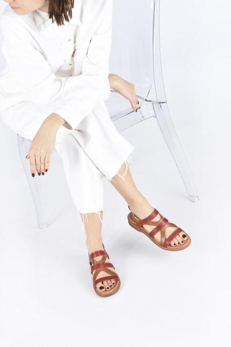 Sandali e scarpe aperte Pikolinos Moraira W4E-0976C1 Marrone immagine dal basso
