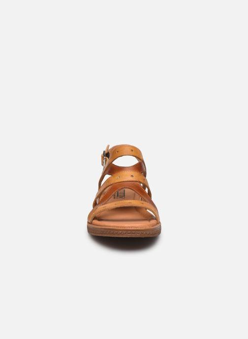 Sandali e scarpe aperte Pikolinos Moraira W4E-0976C1 Marrone modello indossato