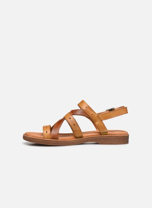 Sandali e scarpe aperte Pikolinos Moraira W4E-0976C1 Marrone immagine frontale