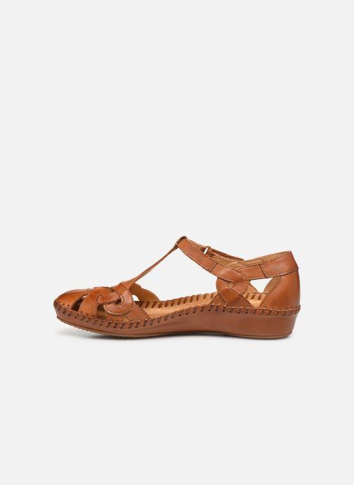 Sandali e scarpe aperte Pikolinos P. Vallarta 655-0621C2 Marrone immagine frontale
