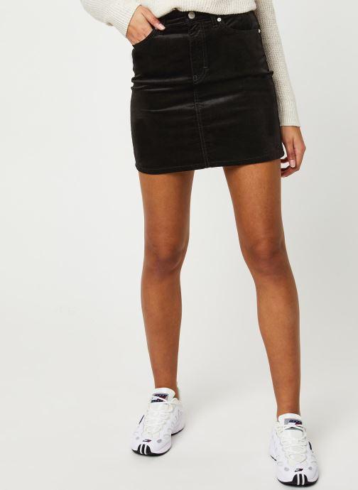 Vêtements Tommy Jeans TJW Short Velvet Skirt Noir vue détail/paire
