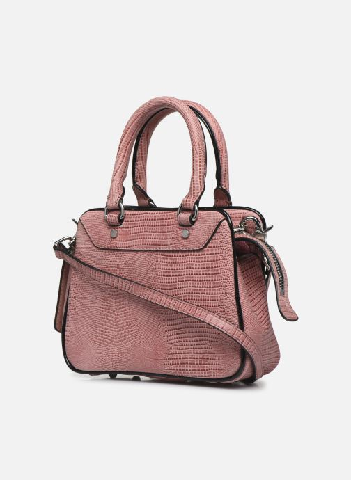 Sacs à main Essentiel Antwerp Vertuosi Leather Mini Shoulderbag Rose vue droite