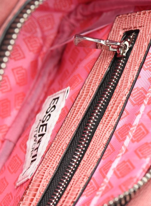 Sacs à main Essentiel Antwerp Vertuosi Leather Mini Shoulderbag Rose vue derrière