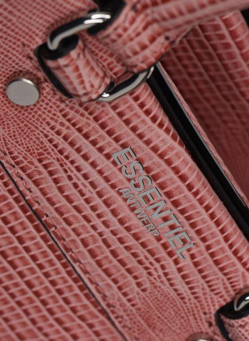 Sacs à main Essentiel Antwerp Vertuosi Leather Mini Shoulderbag Rose vue gauche