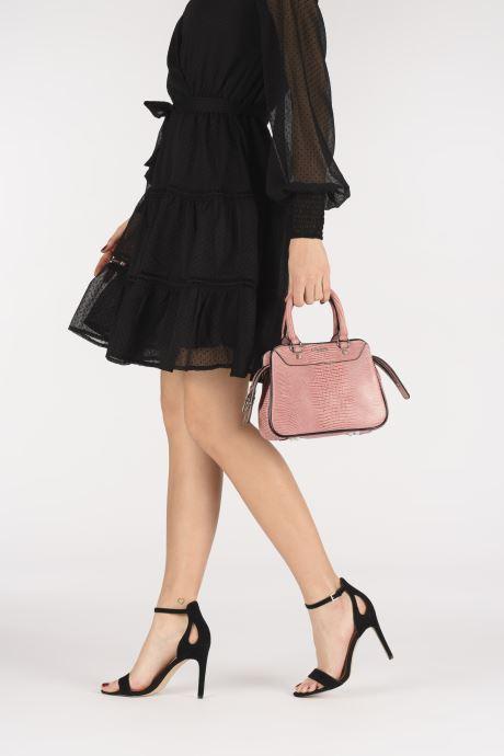 Sacs à main Essentiel Antwerp Vertuosi Leather Mini Shoulderbag Rose vue bas / vue portée sac