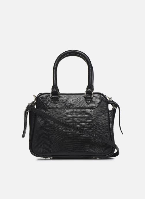 Sacs à main Essentiel Antwerp Vertuosi Leather Mini Shoulderbag Noir vue face