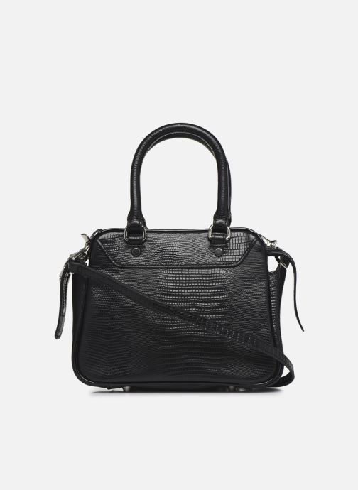 Sacs à main Essentiel Antwerp Vertuosi Leather Mini Shoulderbag Noir vue face