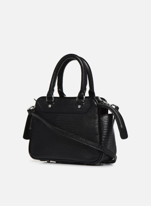 Sacs à main Essentiel Antwerp Vertuosi Leather Mini Shoulderbag Noir vue droite