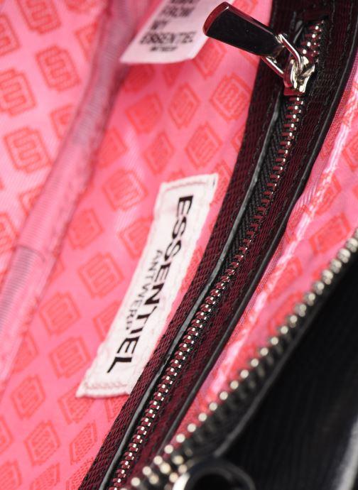 Sacs à main Essentiel Antwerp Vertuosi Leather Mini Shoulderbag Noir vue derrière