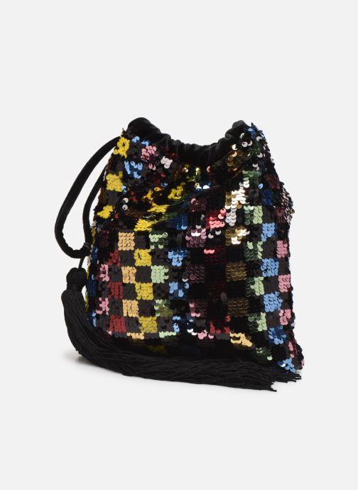 Sacs pochettes Essentiel Antwerp Viona Sequined Bag Multicolore vue portées chaussures