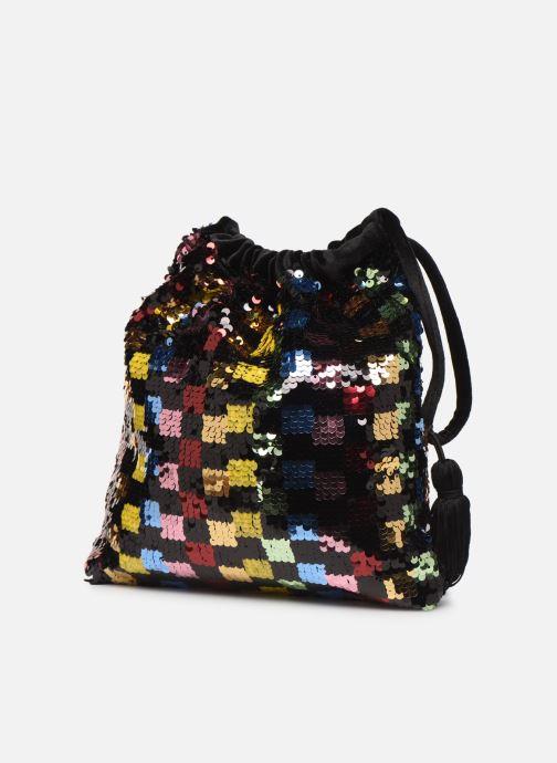 Sacs pochettes Essentiel Antwerp Viona Sequined Bag Multicolore vue droite