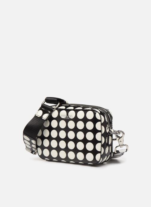 Sacs à main Essentiel Antwerp Vlotti Shoulderbag Blanc vue portées chaussures
