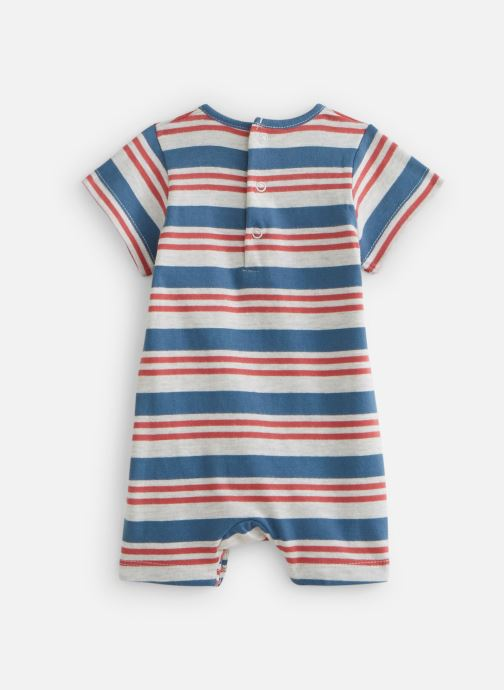 Vêtements Noukies Combishort Boy Raye Jersey Bleu vue bas / vue portée sac