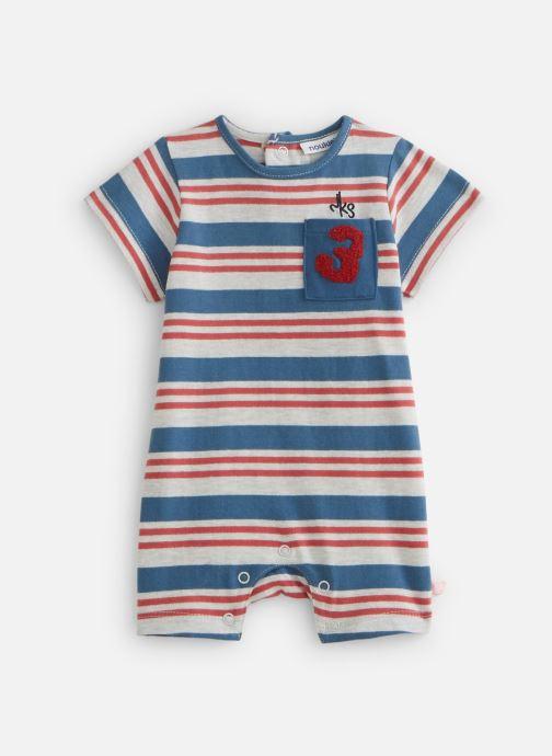 Vêtements Noukies Combishort Boy Raye Jersey Bleu vue détail/paire