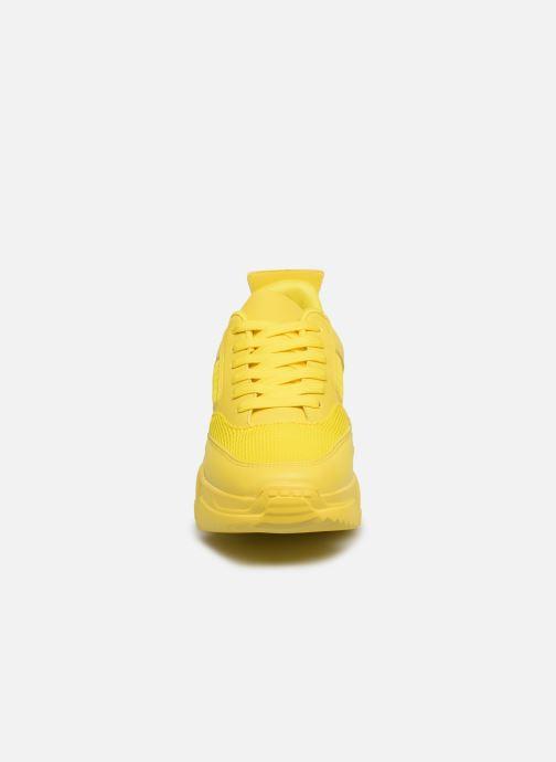 Baskets Essentiel Antwerp Vultra Jaune vue portées chaussures