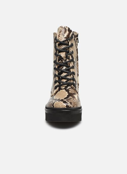 Bottines et boots Essentiel Antwerp Vladik Beige vue portées chaussures