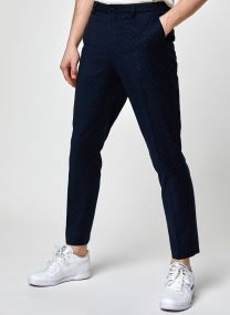 STUART- Classic chino in yarn-dyed pattern