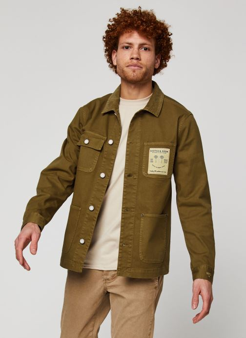 Unlined Michigan jacket with artwork