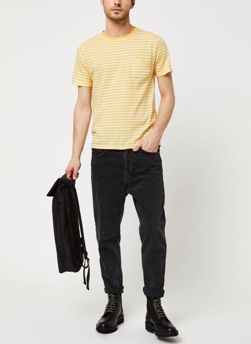 Armor Lux T-Shirt Héritage (Jaune) - Vêtements (417169)
